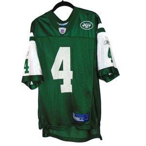 Reebok Brett Favre #4 NY Jets NFL Jersey Small
